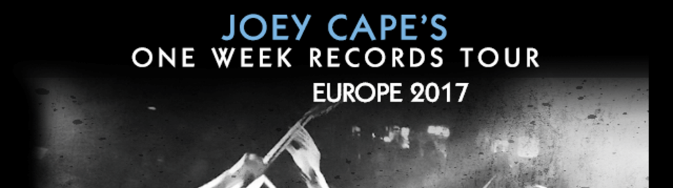 Tickets JOEY CAPE , + BRIAN WAHLSTROM, ZACH QUINN, DONALD SPENCE in Berlin