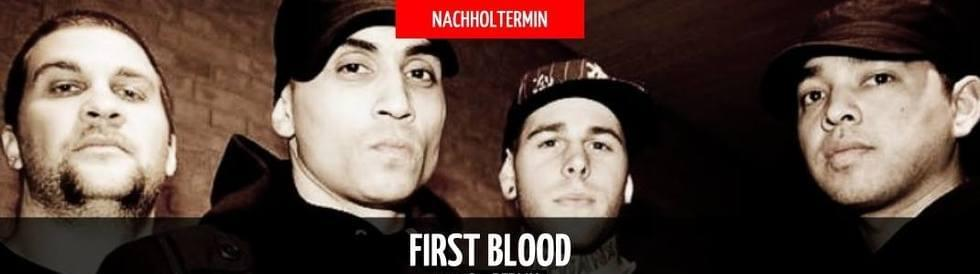 Tickets FIRST BLOOD, + Support in Berlin