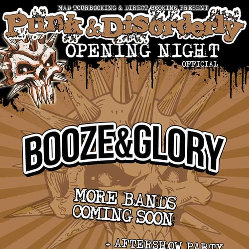 Tickets kaufen für PUNK & DISORDERLY OPENING NIGHT  am 06.04.2017