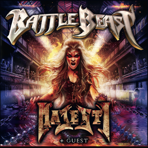 Tickets kaufen für BATTLE BEAST - BRINGER OF PAIN OVER EUROPE 2017 Tour am 27.03.2017
