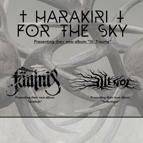 Tickets kaufen für HARAKIRI FOR THE SKY  am 22.04.2017